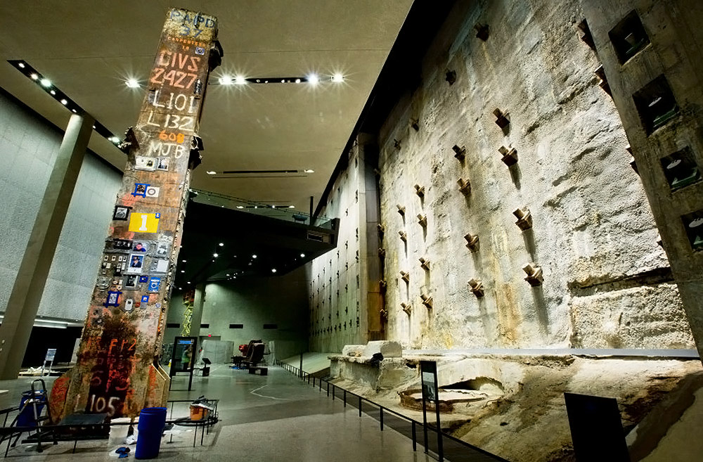 Pyrok acoustical plaster in 9/11 museum